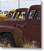 Pickup Cabs 2 Metal Print