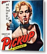 Pickup, Us Poster, Beverly Michaels Metal Print