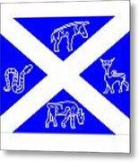 Pictish Scotland Flag 2 Metal Print