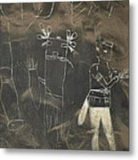 Pictograph 3 Metal Print