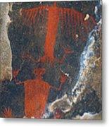 Pictograph Metal Print