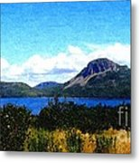 Picture Perfect In Painterly Style Metal Print