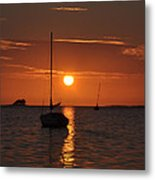Picture Perfect Sunset Metal Print