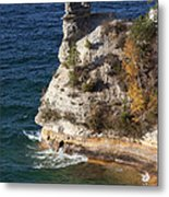 Pictured Rocks National Lakeshore 2 Metal Print
