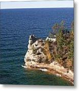 Pictured Rocks National Lakeshore Metal Print