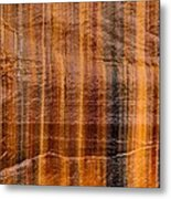 Pictured Rocks Vibrant Layers Metal Print