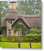 Picturesque Cottage Metal Print