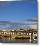 Picturesque Findochty Metal Print