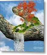 Piece Of Nature Metal Print