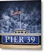 Pier 39 Metal Print
