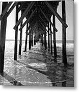 Pier Path Metal Print