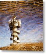 Pier Tower Metal Print
