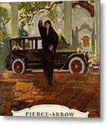 Pierce-arrow  1920s Usa Cc Cars Pierce Metal Print