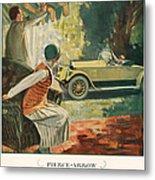 Pierce Arrow 1925 1920s Usa Cc Cars Metal Print