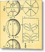 Pierce Basketball Patent Art 1929 Metal Print by Ian Monk