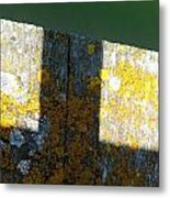 Piering Down Metal Print