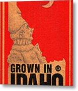 Pierrot Of Idaho Metal Print