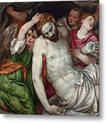 Pieta And Angels Metal Print