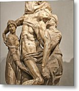 Pieta By Michelangelo Metal Print by Melany Sarafis
