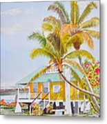 Pigeon Key - Home Metal Print