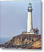 Pigeon Point Metal Print by Heidi Smith