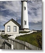 Pigeon Point Lighthouse II Metal Print