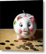 Piggy Bank Metal Print by Sinisa Botas
