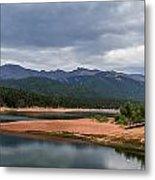Pikes Peak From Crystal Creek Reservoir  Metal Print