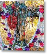 Pilgrimage Shrine Metal Print