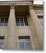 Pillars And Windows Metal Print