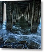 Pillars In San Francisco California... Metal Print