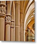 Pillars Of Faith Metal Print