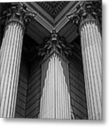 Pillars Of Strength Metal Print