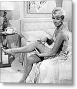 Pillow Talk, Doris Day, 1959 Metal Print