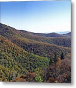 Pilot Mountain Near Balsam Grove Metal Print