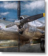 Pilot - Plane - The B-29 Superfortress Metal Print
