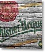 Pilsner Urquell Metal Print