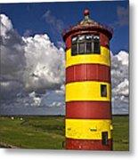 Pilsum Lighthouse Metal Print