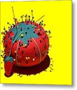 Pin Cushion Metal Print