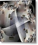 Pin Wheels Metal Print