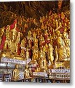 Pindaya Cave With More Than 8000 Buddha Statues Myanmar Metal Print