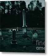 Pine Hill Cemetery Metal Print