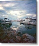 Pinhole Oceanside Harbor Metal Print