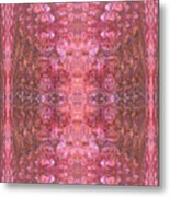 Pink Bubbles Metal Print