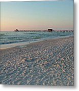 Pink Florida Sands Metal Print