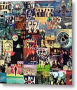 Pink Floyd Collage II Metal Print