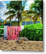 Pink Gate Metal Print