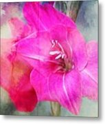 Pink In The Clouds Metal Print by Cathie Tyler