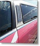 Pink Limousine Metal Print