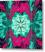 Pink Overlay Metal Print